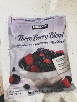 Three berry blend from Costco