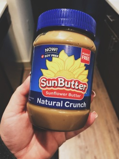 Sunbutter! The bomb.